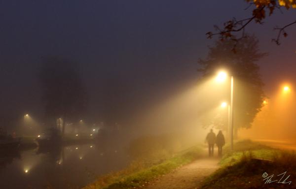 Livets oklarhet kan också likt denna dimma vara vackert.
